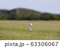 ゴルフコース ゴルフ場 ティーグラウンド ゴルフイメージ  63306067