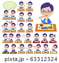 glasses Honest man_Meal 63312324
