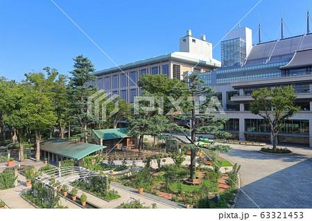 東京競馬場のメインスタンド 63321453