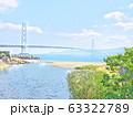 明石海峡大橋の見える風景 63322789