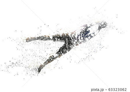 football abstract silhouette 2 bitmap ver. 63323062