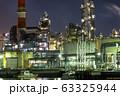 《神奈川県》工場夜景・川崎市水江町 63325944