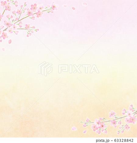 背景素材 桜 さくら ソメイヨシノ 63328842