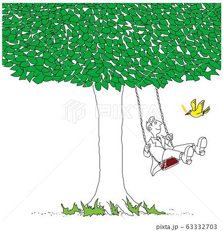 大樹とブランコ 63332703