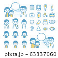 Pediatric medical material set 63337060