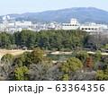 岡山城から見た後楽園 63364356