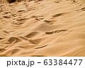 風紋 砂漠 砂の表面 ネバダ州 63384477