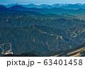 巻機山・ニセ巻機から見る北アルプスの山並み 63401458