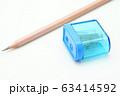 鉛筆と鉛筆削り 63414592