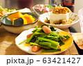 ごく普通の家庭の晩ご飯 63421427