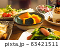ごく普通の家庭の晩ご飯 63421511