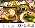 ごく普通の家庭の晩ご飯 63421512
