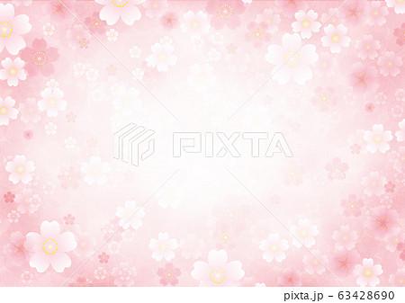 桜の背景 63428690