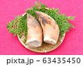 注意)背景に汚れや小キズが残ります。春の食材、筍、たけのこ、竹の子、タケノコ。 63435450
