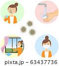 感染症予防 コロナ対策 63437736