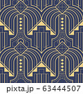 Abstract art deco geometric pattern vector 63444507