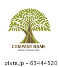 Abstract branch and tree logo for company business 63444520