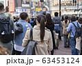 就活する大学生の風景 女性 63453124