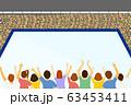 観客 スケートリンク 63453411