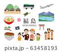 家族旅行 福島 63458193