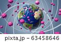 ウイルス パンデミック 63458646