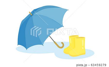 傘と長靴 63459279