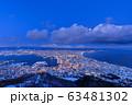 北海道_絶景の函館冬夜景 63481302