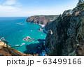 【岩手県鵜の巣断崖】厳寒期の鵜の巣断崖 63499166