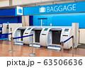 空港・自動手荷物預かり機 63506636