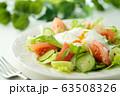 リヨン風サラダ(ポーチドエッグのサラダ) 63508326