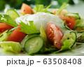 リヨン風サラダ(ポーチドエッグのサラダ) 63508408