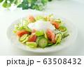 リヨン風サラダ(ポーチドエッグのサラダ) 63508432
