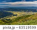 巻機山・割引岳から見る魚沼平野 63519599