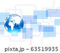 世界地図 地図 ビジネス背景 ビジネスイメージ 日本地図 グローバル 日本地図 63519935