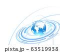 ビジネス背景 ビジネスイメージ 世界地図 サイエンス テクノロジー  日本地図 グローバル 日本地図 63519938