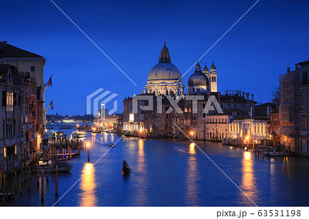 Grand canal of Venice city with beautiful 63531198