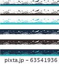 沖縄の海と珊瑚の帯。沖縄の海のコバルトブルーをイメージ 63541936