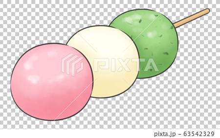 3色だんご・線1色 63542329