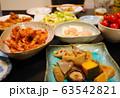 家庭料理 煮物や唐揚げ  63542821