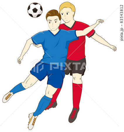 サッカーをする男性07 63543812