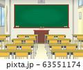 学校の教室イメージ 63551174