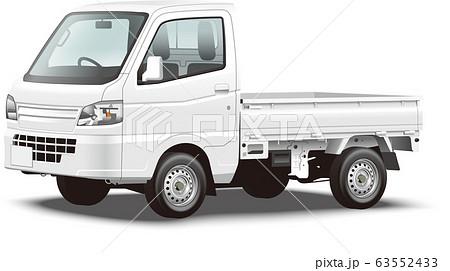 軽トラック イラスト 自動車イラスト 63552433