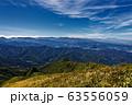 巻機山・割引岳から見る天狗岩と北アルプス・妙高連峰 63556059