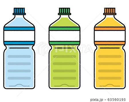 ペットボトル3本セット 63560193