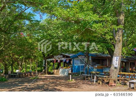 東京八王子市の小仏城山山頂にある茶屋 63566590