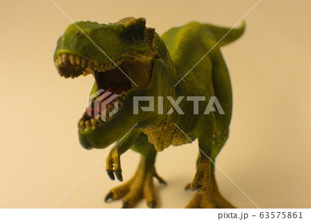 怒るティラノサウルス 63575861