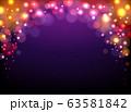 Shiny violet festival background 63581842