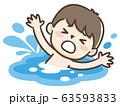 溺れる 子供 63593833