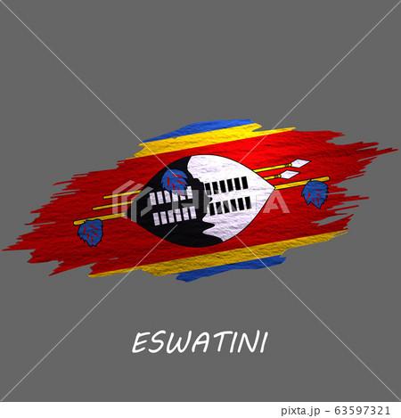 Grunge styled flag 63597321