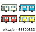 バス・乗り物アイコン 63600333